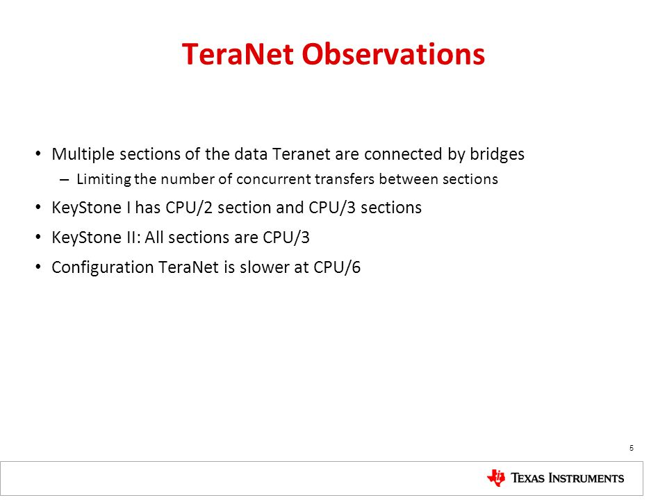 TeraNet Observations Multiple sections of the data Teranet are connected by bridges. Limiting the number of concurrent transfers between sections.