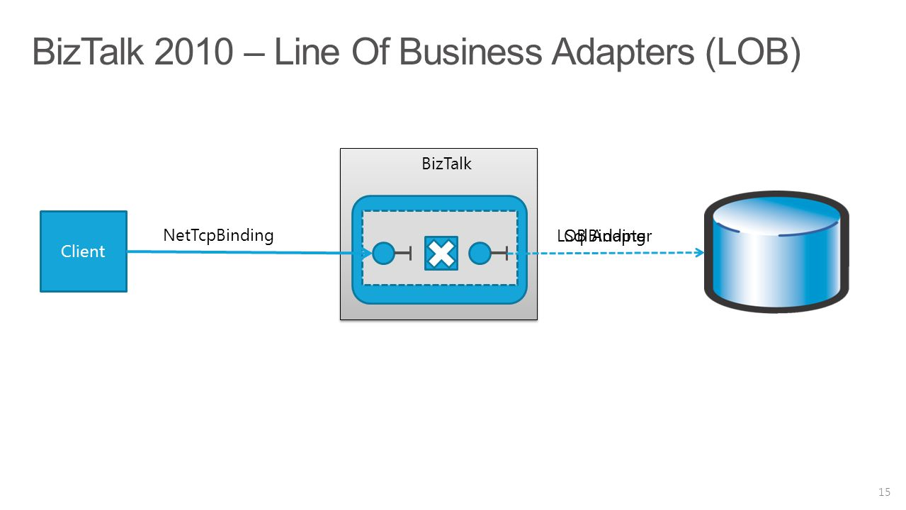 BizTalk 2010 – Line Of Business Adapters (LOB)