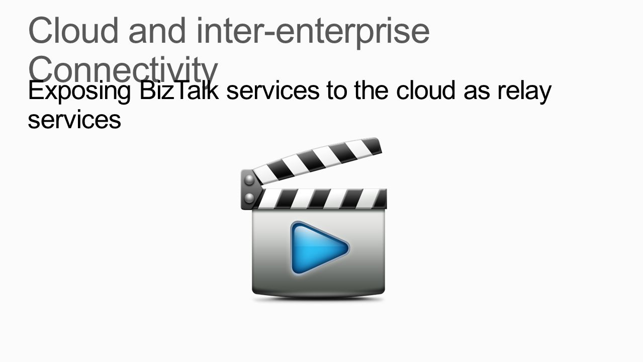 Cloud and inter-enterprise Connectivity