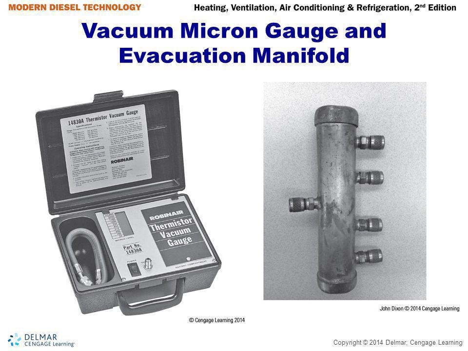 Vacuum Micron Gauge and Evacuation Manifold