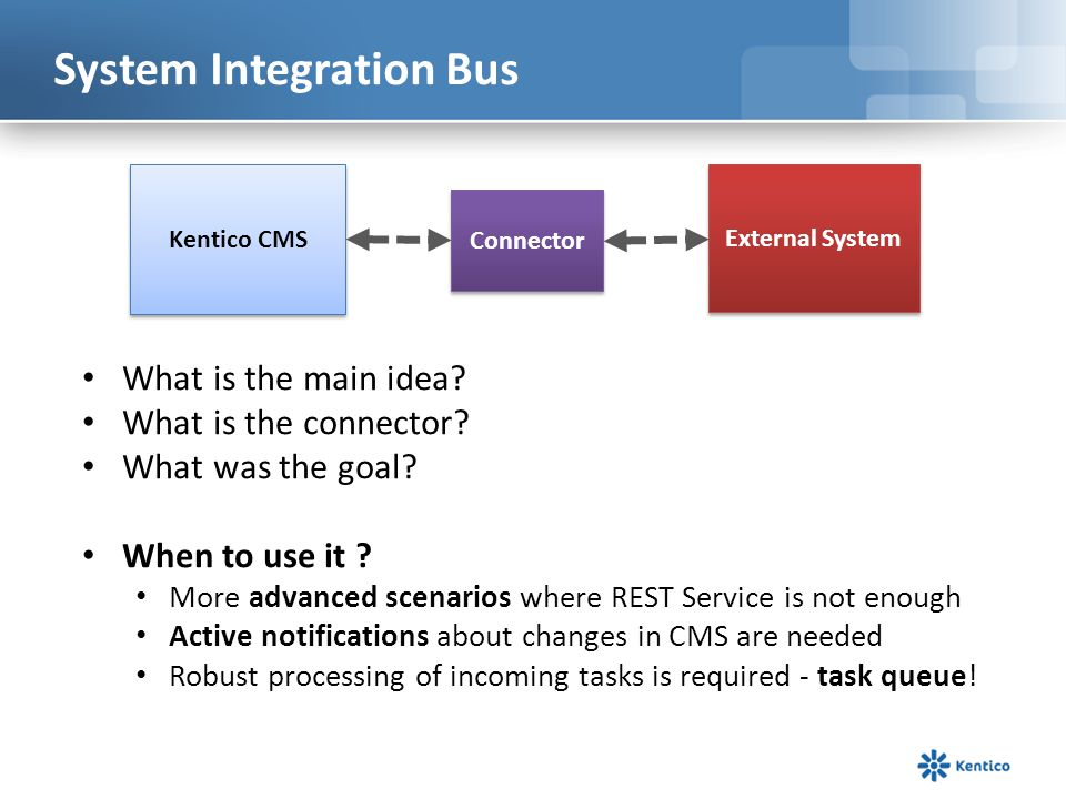 System Integration Bus