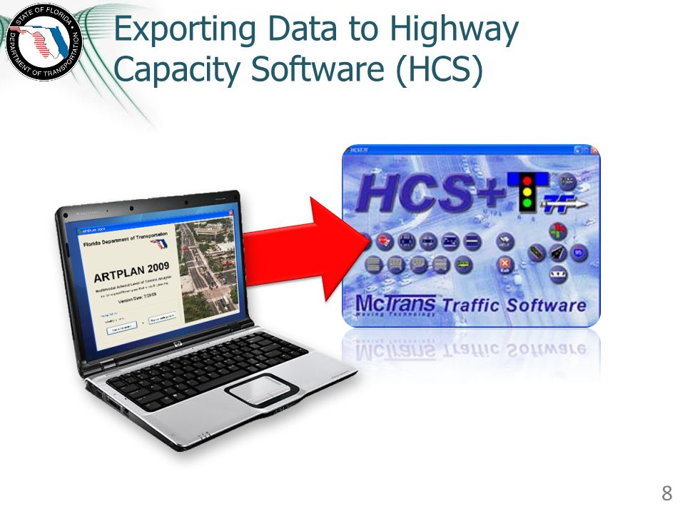 Exporting Data to Highway Capacity Software (HCS)