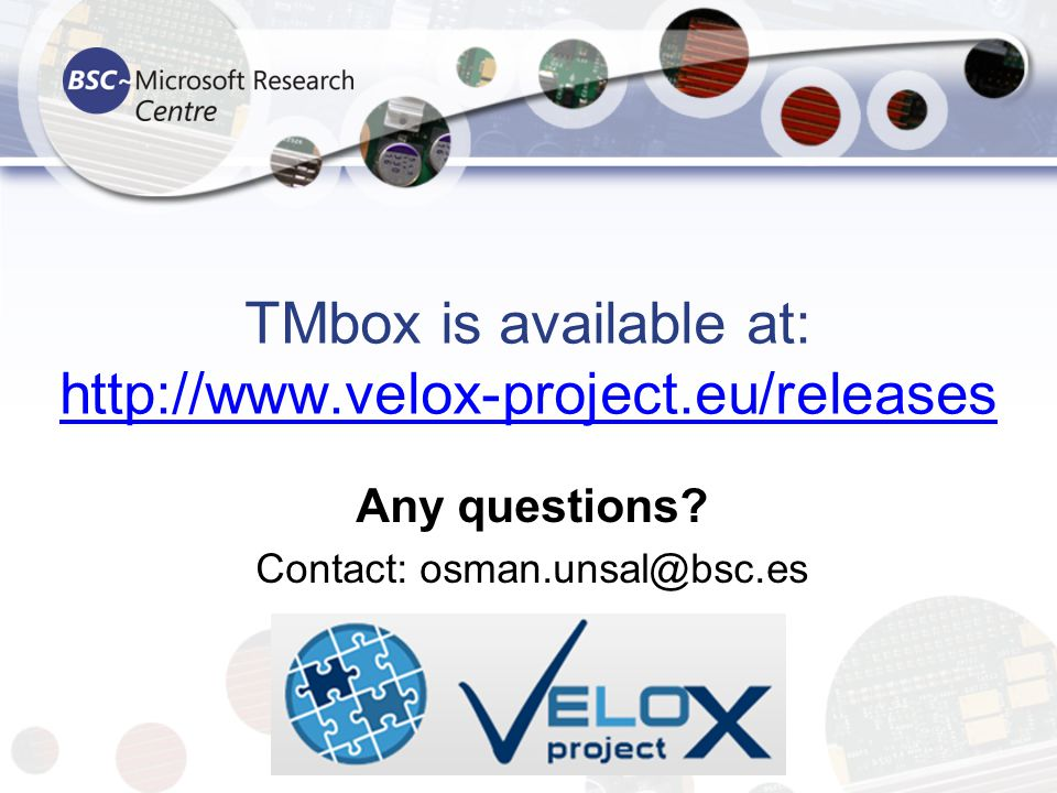 TMbox is available at: http://www.velox-project.eu/releases