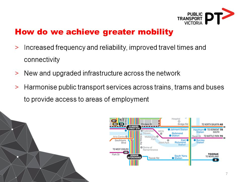 How do we achieve greater mobility