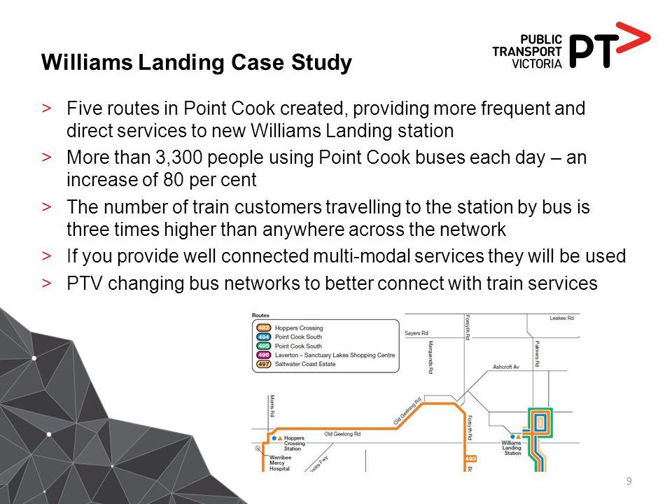 Williams Landing Case Study