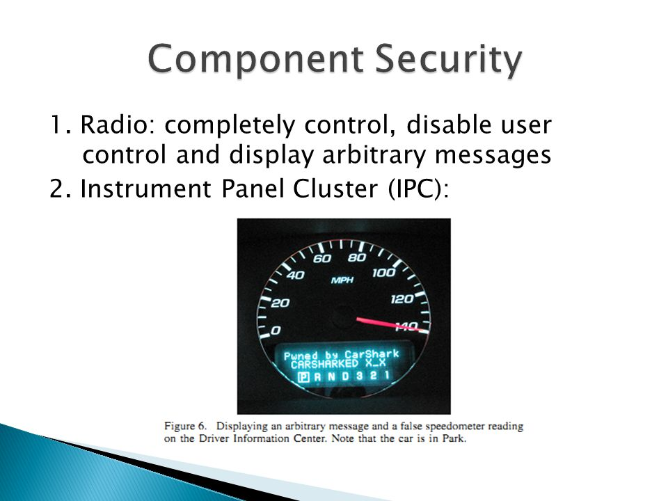 Component Security 1.