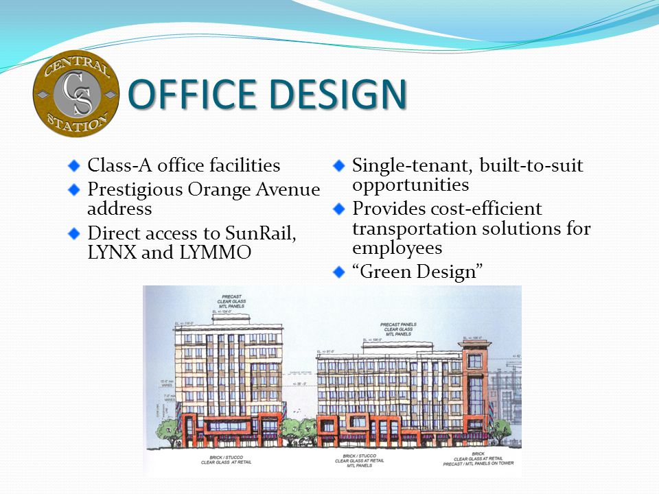OFFICE DESIGN Class-A office facilities