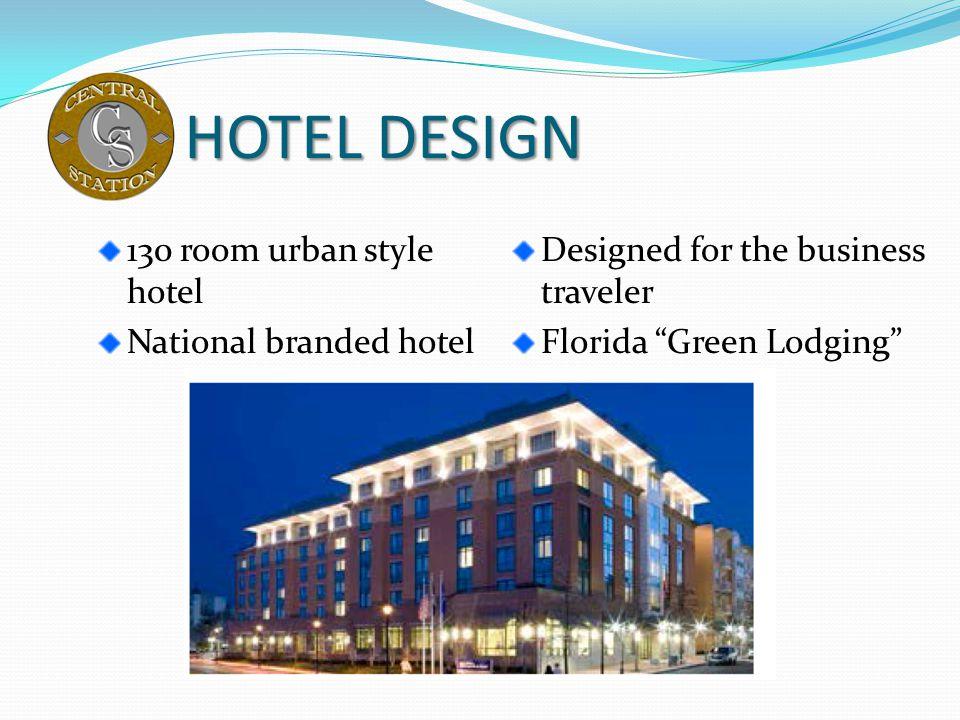 HOTEL DESIGN 130 room urban style hotel