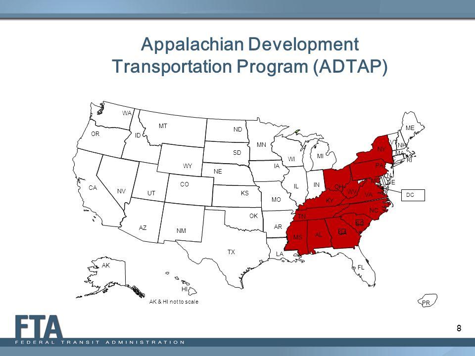 Appalachian Development Transportation Program (ADTAP)