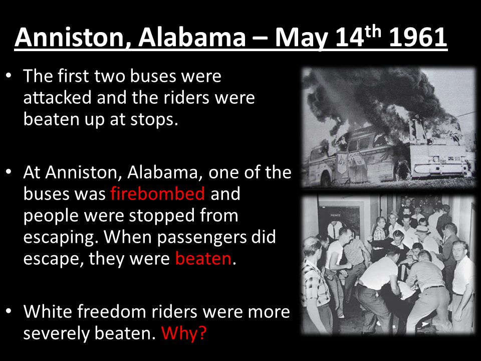 Anniston, Alabama – May 14th 1961