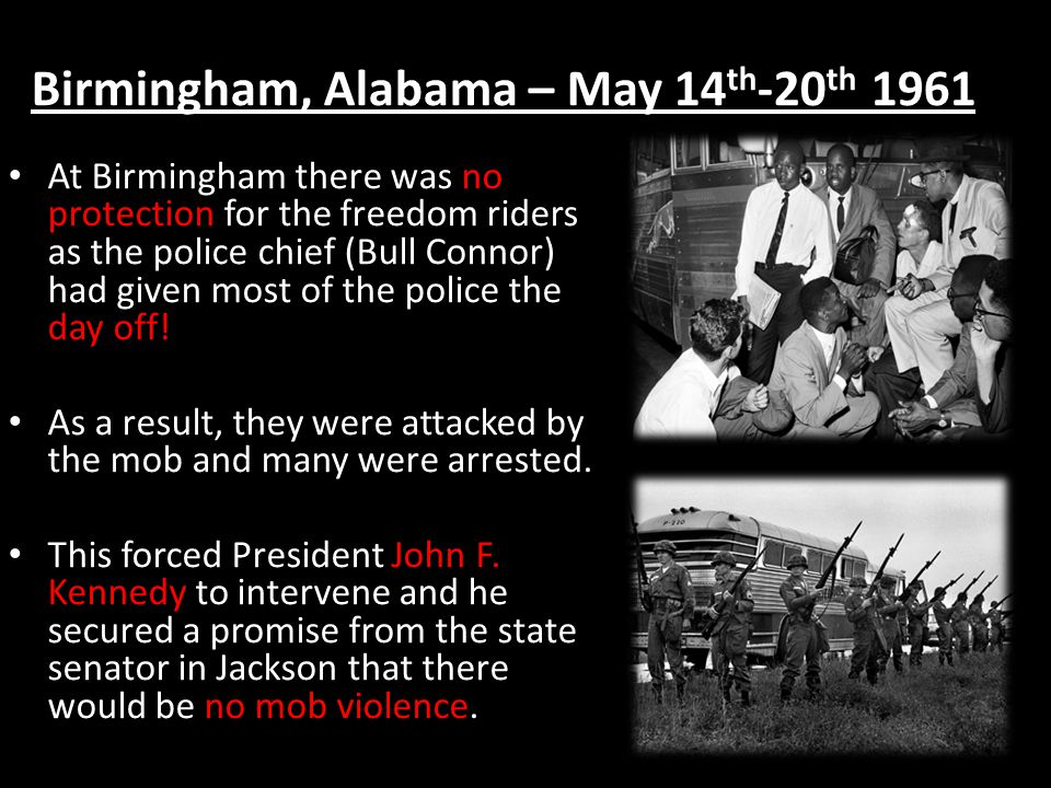 Birmingham, Alabama – May 14th-20th 1961