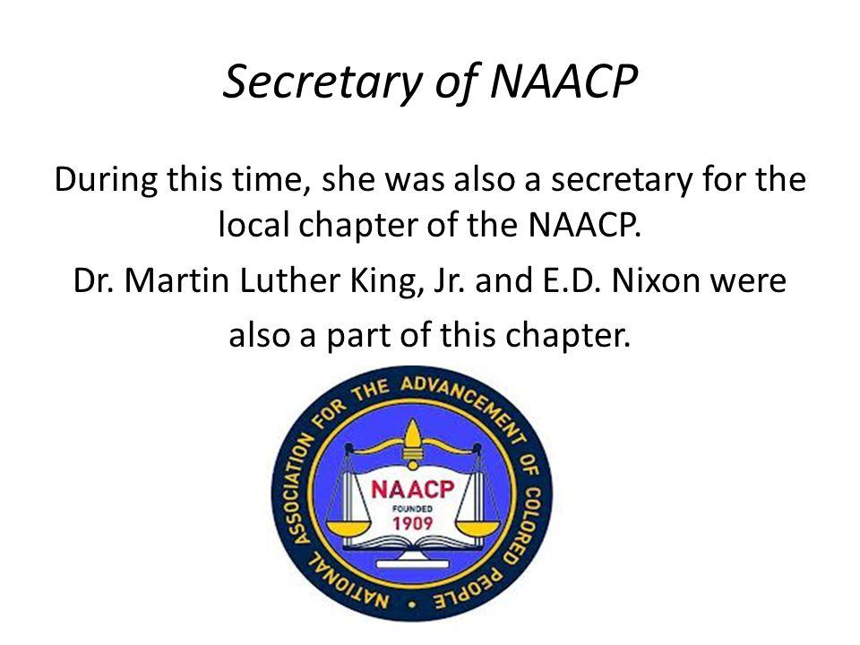 Secretary of NAACP