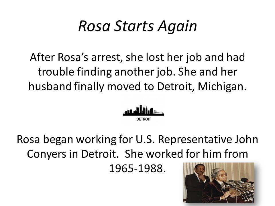 Rosa Starts Again