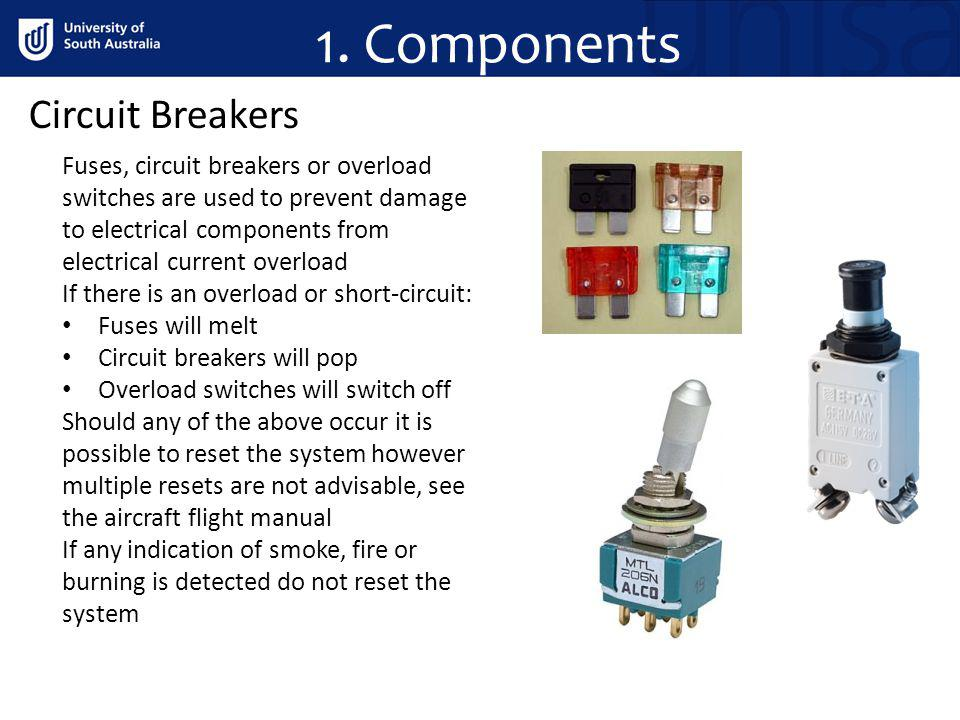 1. Components Circuit Breakers