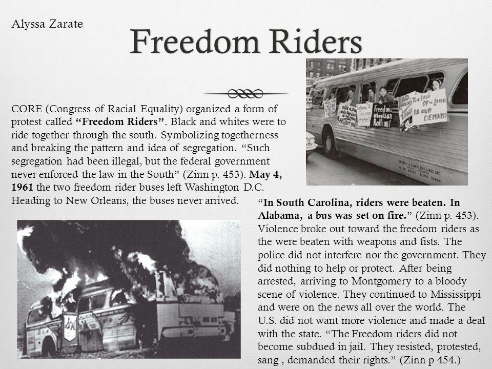 Freedom Riders Alyssa Zarate
