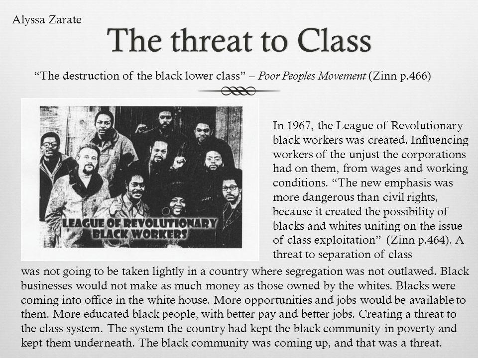 The threat to Class Alyssa Zarate