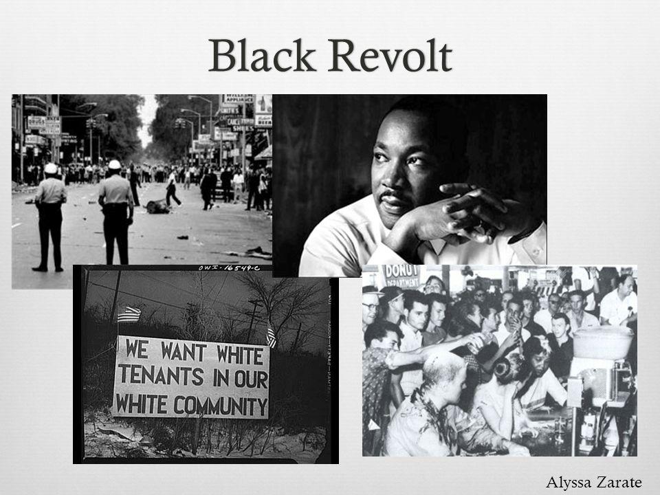 Black Revolt Alyssa Zarate
