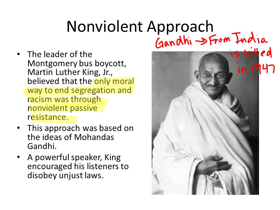 Nonviolent Approach