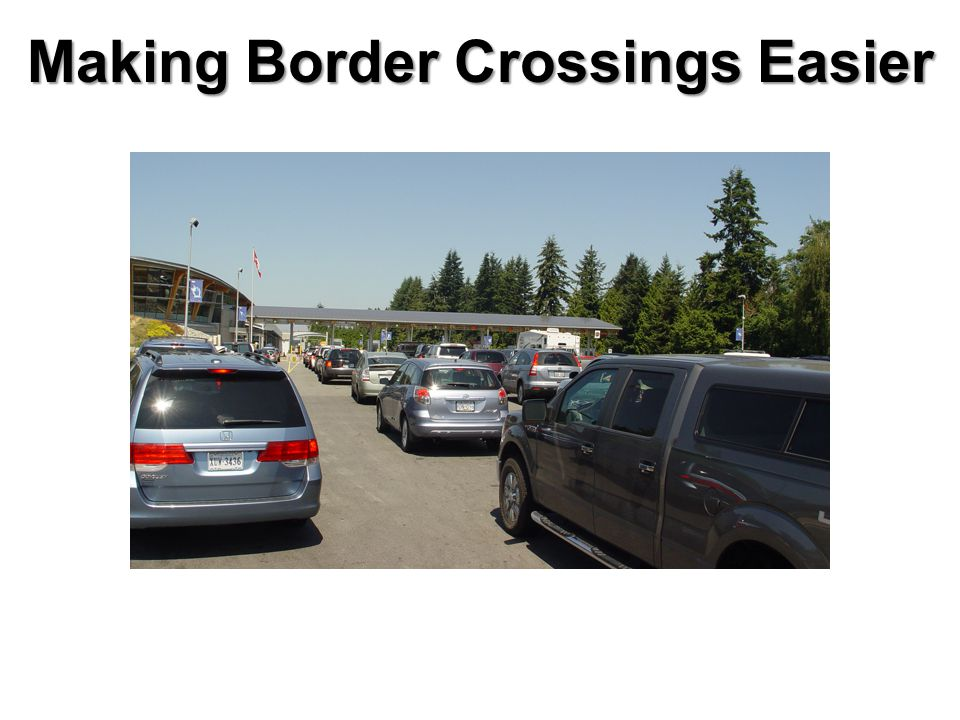 Making Border Crossings Easier