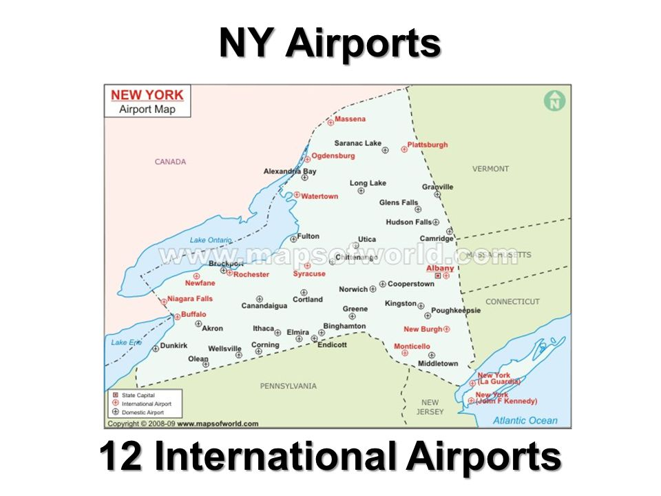 12 International Airports