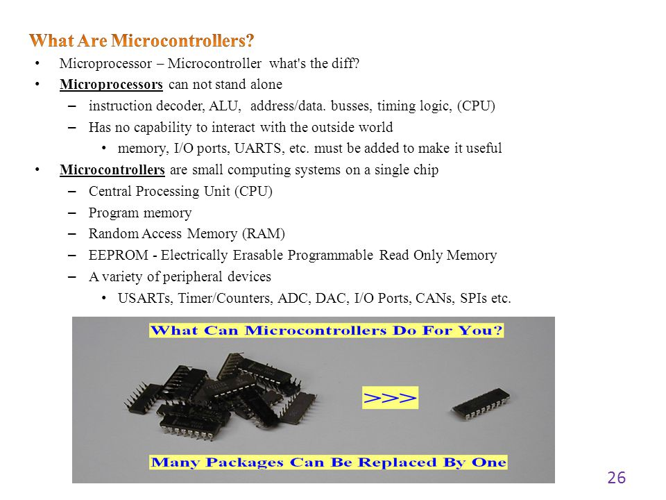 What Are Microcontrollers