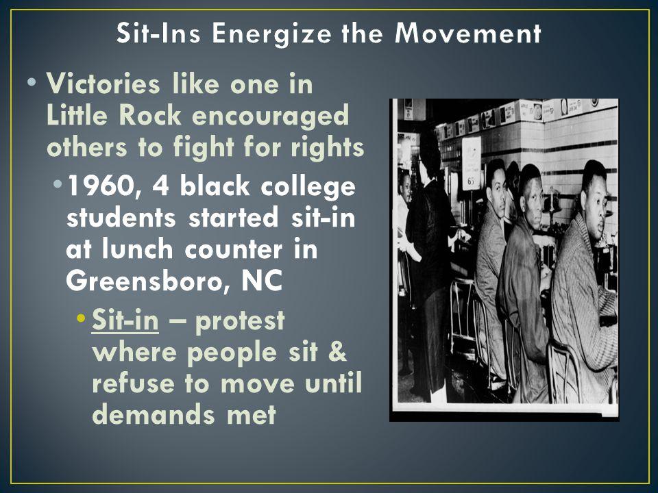 Sit-Ins Energize the Movement
