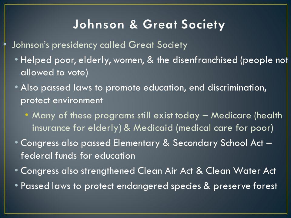 Johnson & Great Society