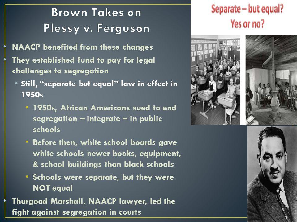 Brown Takes on Plessy v. Ferguson