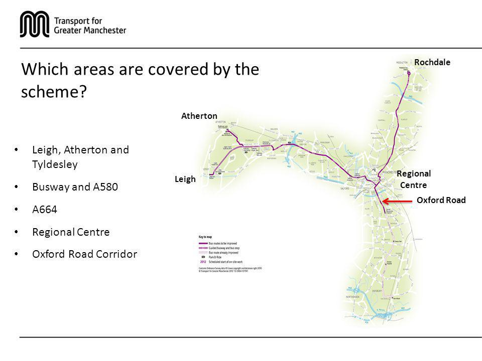 Which areas are covered by the scheme
