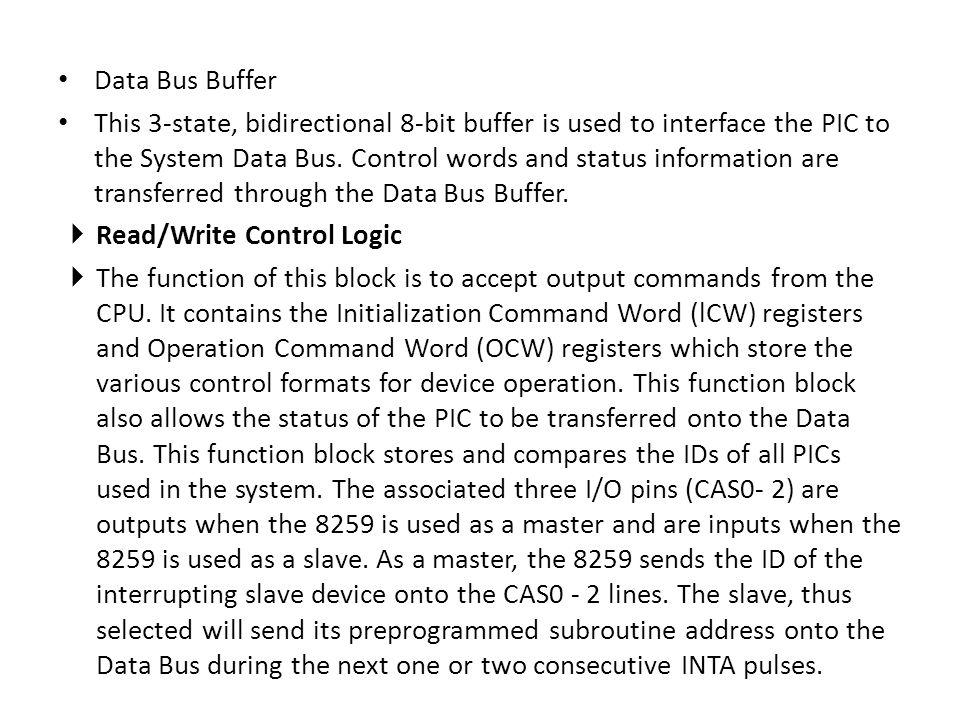 Data Bus Buffer