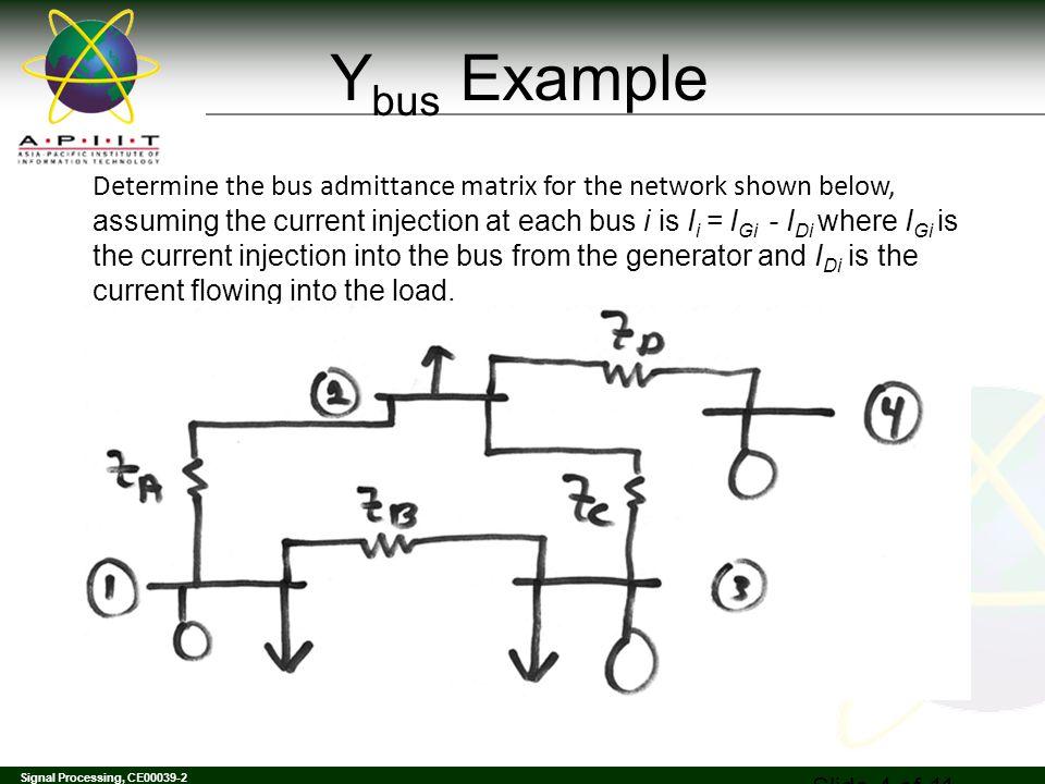 Ybus Example