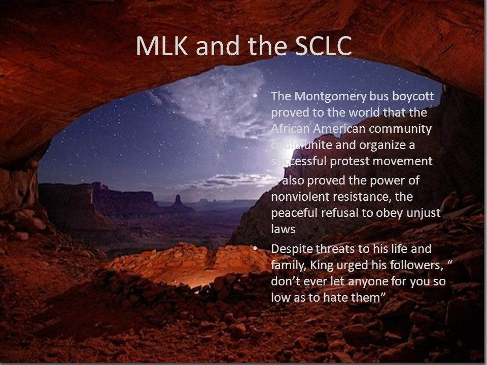 MLK and the SCLC