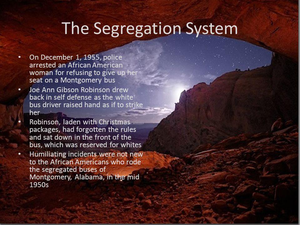 The Segregation System