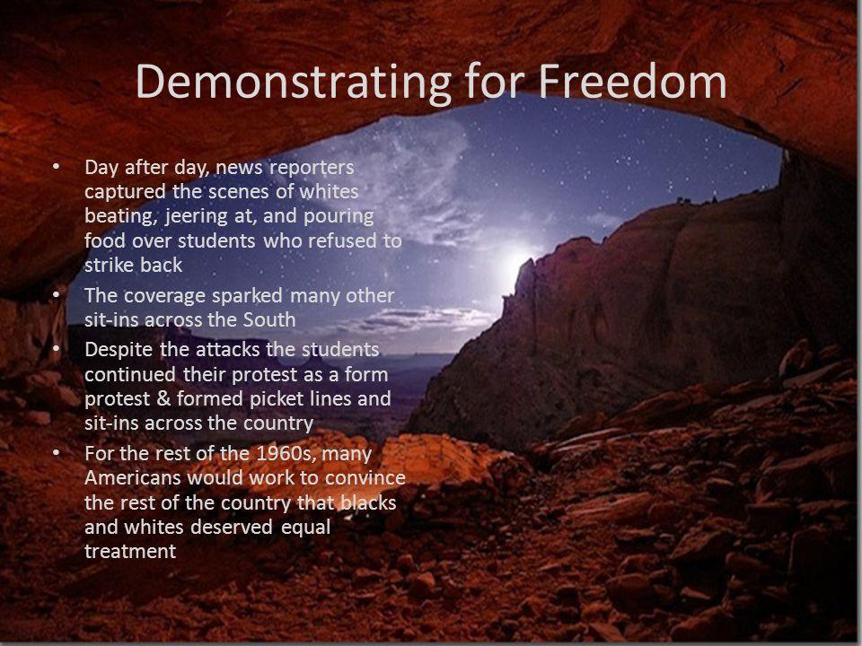 Demonstrating for Freedom