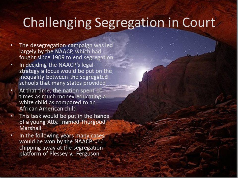 Challenging Segregation in Court