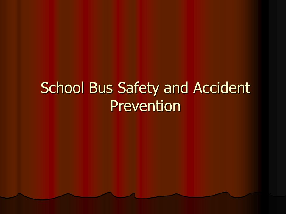 School Bus Safety and Accident Prevention