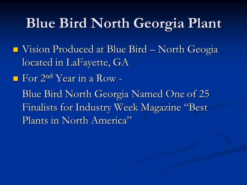 Blue Bird North Georgia Plant