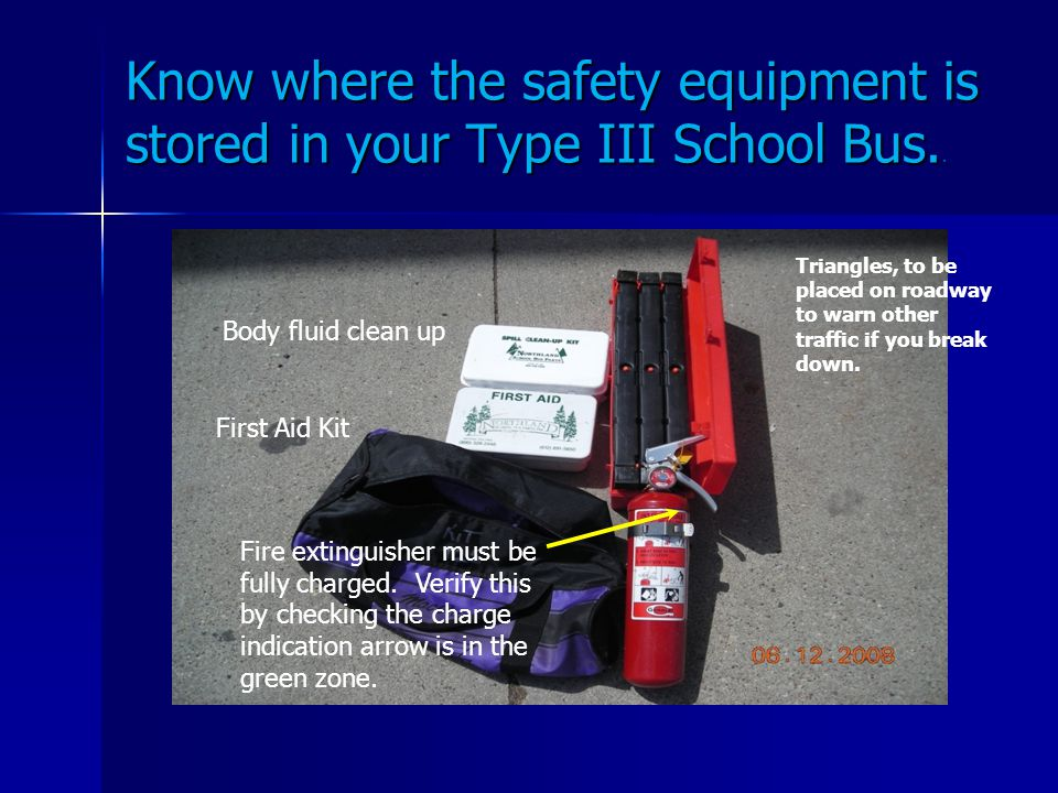 Type Iii School Bus Training Program Ppt Video Online