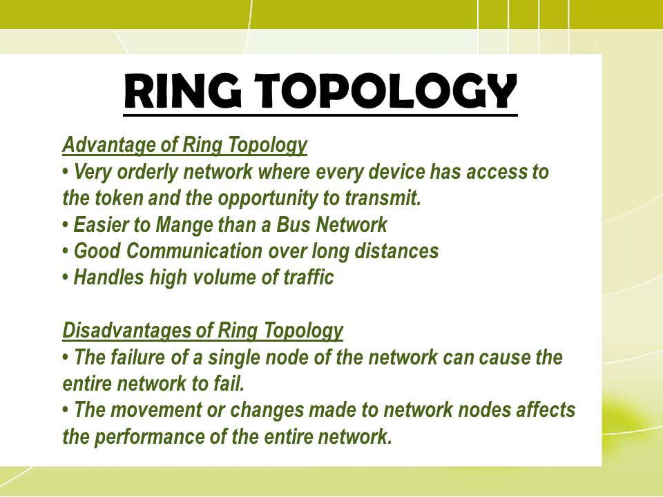 What is the advantage for Ethernet over token ring?