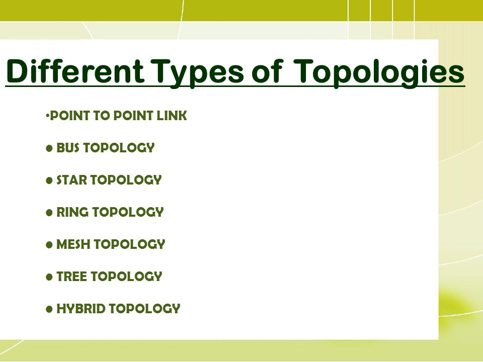 networking topology types choice image
