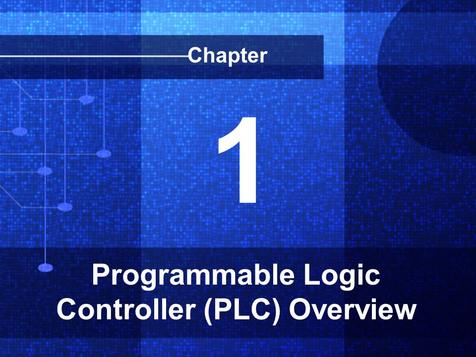 Programmable Logic Controller (PLC) Overview