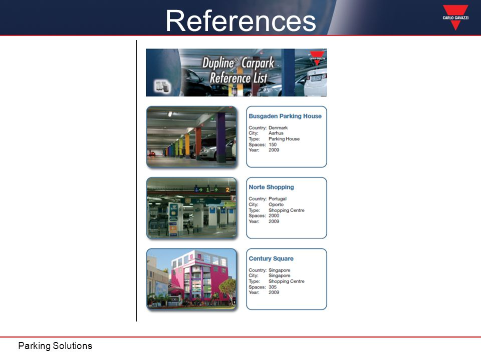 References Parking Solutions