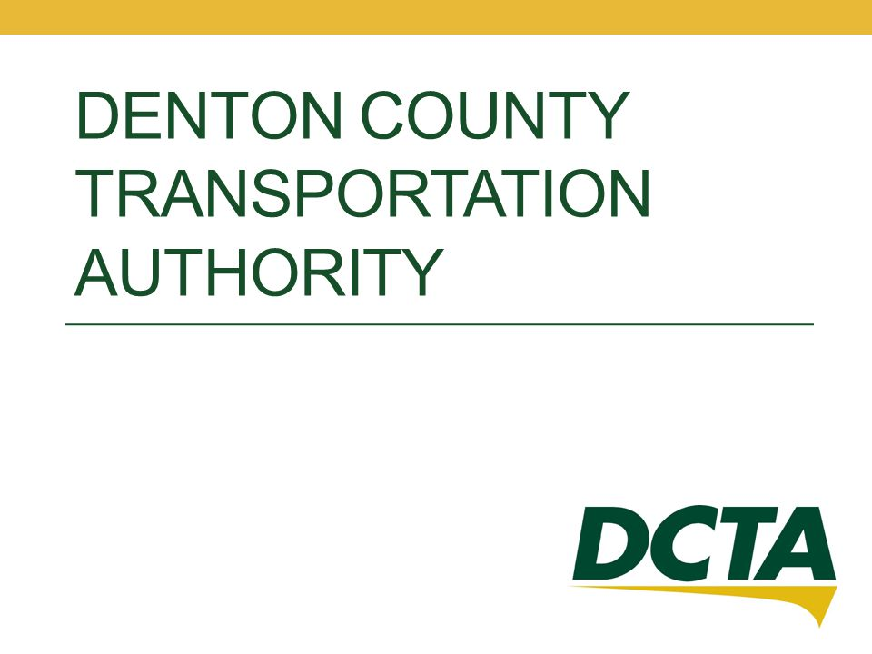 Denton County Transportation Authority