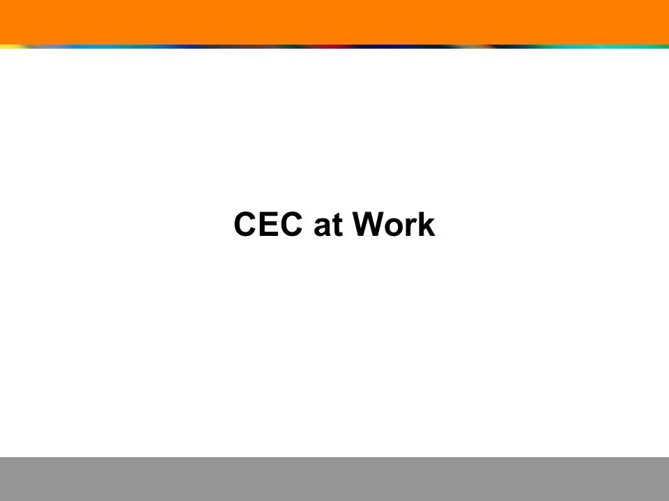 CEC at Work