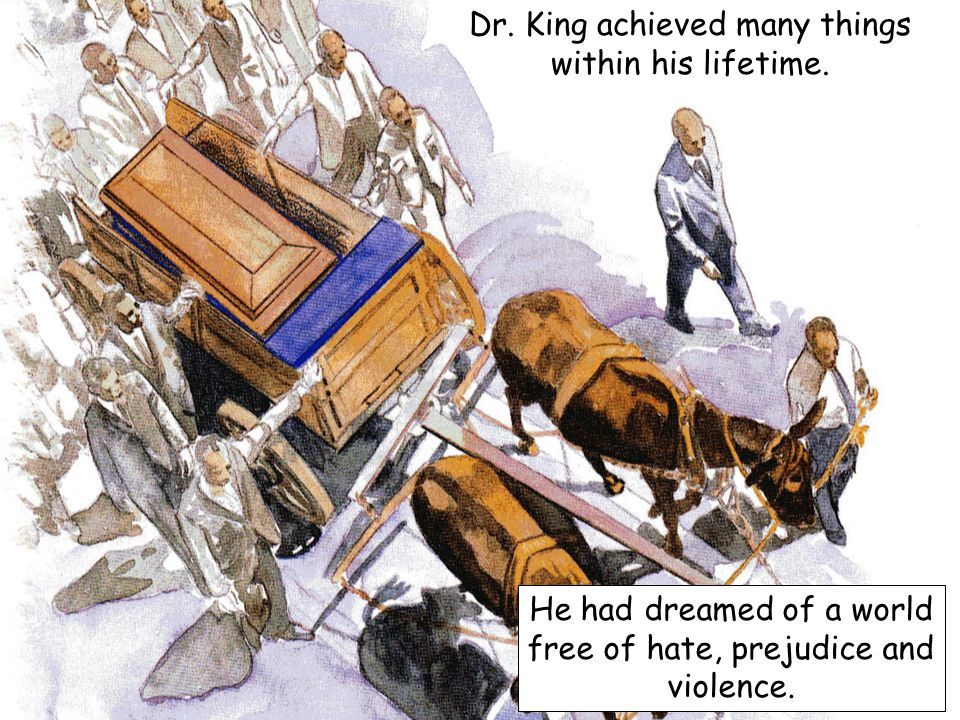 Dr. King achieved many things within his lifetime.