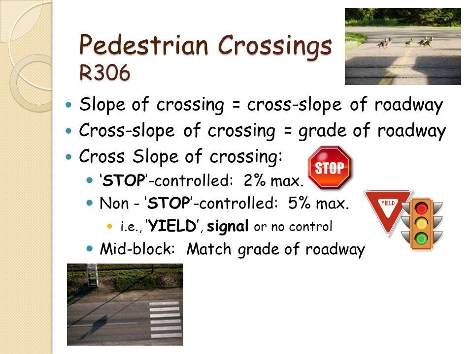 Pedestrian Crossings R306