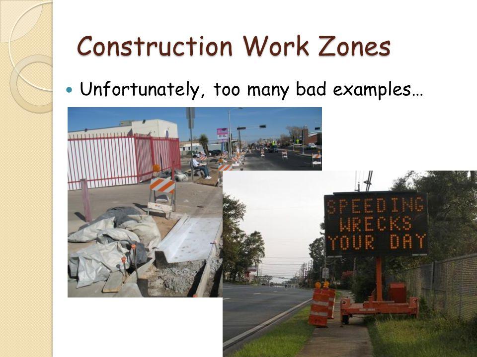 Construction Work Zones