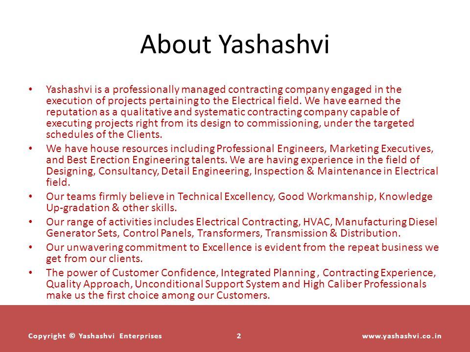 About Yashashvi