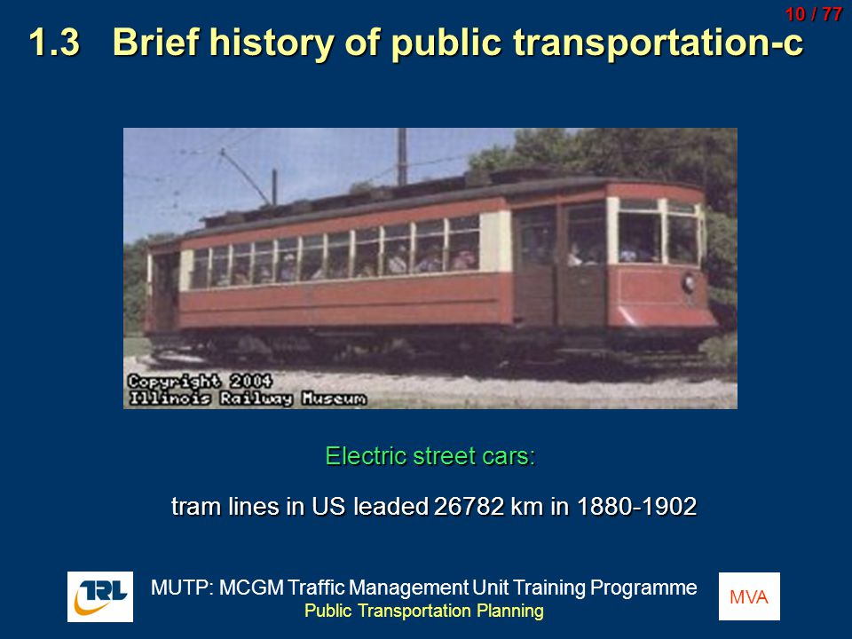 1.3 Brief history of public transportation-c