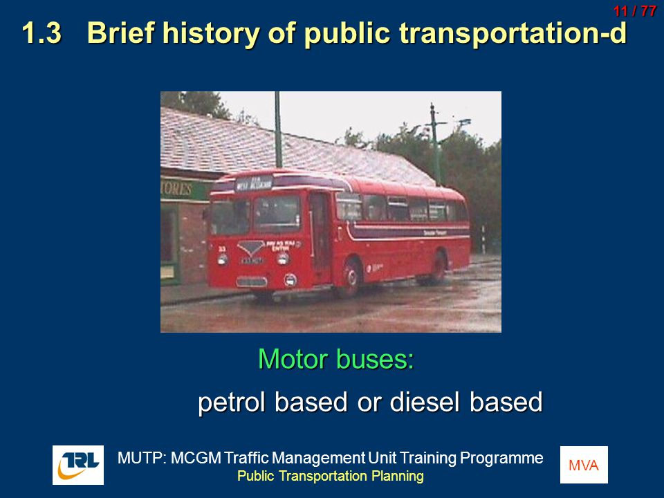 1.3 Brief history of public transportation-d